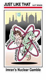 Imran's Nuclear gamble
