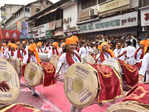 ​Dhol, taasha and a fitting farewell for Ganpati Bappa​