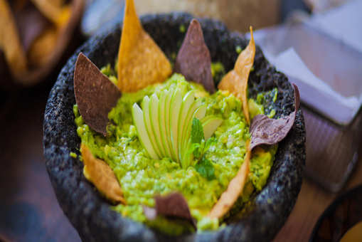 Green Apple and Mint Guacamole