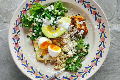 Corn and Quinoa Bowl
