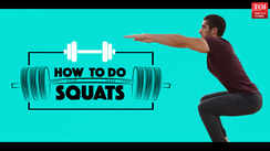 Workout tutorial 3: How to do squats