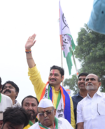 Dhananjay Munde files nomination from Parli