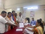 Pradeep Sharma files nomination from Nallasopara
