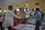 Ravindra Waikar files nomination on the second-last day