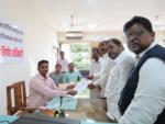 Jayant Patil files nomination papers