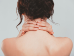 The nape of the neck