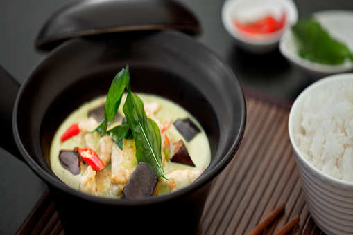 Vegetable Green Thai Curry