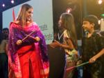 Sara Ali Khan tries her hand at Dandiya