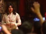 Priyanka Chopra visits puja pandal