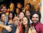 Diwali bash for Kahaan Hum Kahaan Tum team