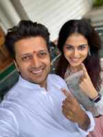 Riteish urges citizens to cast their votes