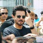 Anil Kapoor casts his vote