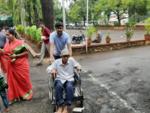Students help senior citizens