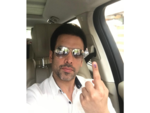 Tushar Kapoor casts his vote