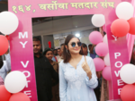 Anushka Sharma casts her vote