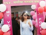 Anushka Sharma casts her vote
