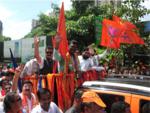 Pratap Sarnaik on the Campaign Trail