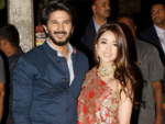 Dulquer Salmaan reaches with wife Amal Sufiya