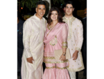 Akshay Kumar shows up with Twinkle and Aarav