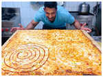 Eat 34-inch pizza in 60 minutes and win Rs 34K!
