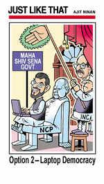 Option two for Maharashtra
