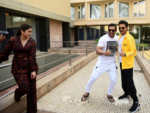 Anil Kapoor, John Abraham, Ileana D'Cruz promote Pagalpanti