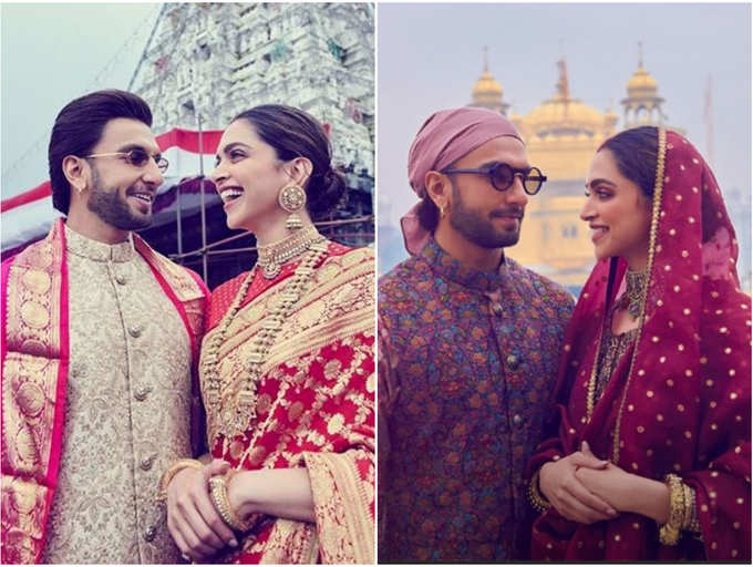 From Tirupati To Golden Temple Here S A Timeline Of Deepika Padukone And Ranveer Singh S First Wedding Anniversary Celebrations The Times Of India