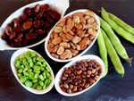 Soak beans faster