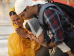 Neha Dhupia, Angad Bedi take daughter Mehr to Golden Temple