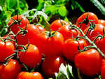 Tomato price in Karachi hits Rs 400 per kg, forces a bride to wear them as jewellery.jpg