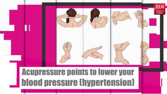 Acupressure points to lower blood pressure