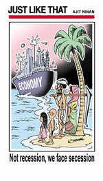 Secession, not recession