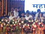 Ambanis at Uddhav's Oath Ceremony