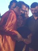 Uddhav meets Raj's mother