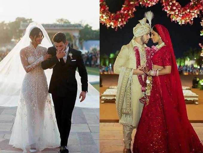 Priyanka Chopra And Nick Jonas First Wedding Anniversary Here S A Sneak Peek Of Their One Year Of Togetherness The Times Of India