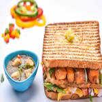 Paneer Chilli Sandwich