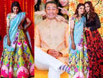 Sania Mirza's sister's is tying the knot with Azharuddin's son and her Mehendi outfit is GORGEOUS