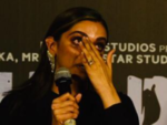 Deepika breaks down during Chhapaak trailer launch