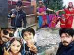 Posing in ethnic outfits to celebrating his daughter's birthday: A look at BB Telugu 2 winner Kaushal Manda's Manali vacation