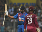 Rohit's half century