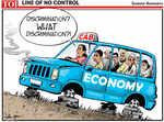 Economy off the track