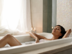 ​Take an aura cleansing bath or shower