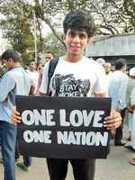 Students march against NRC, CAA