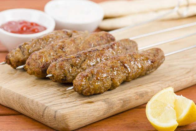 Pork sausage for the filling