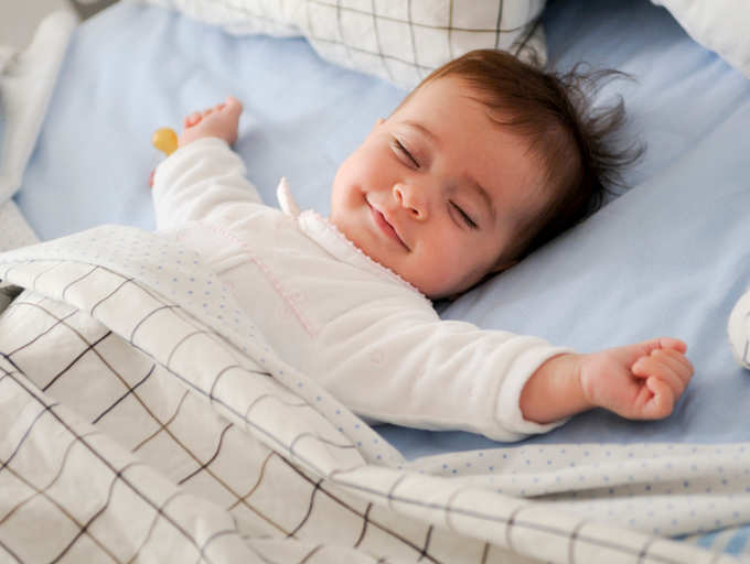 Kids who sleep on time make moms happier, says science | The Times of India