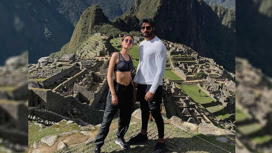 Suniel Shetty's son Ahan Shetty is giving major vacation goals with girlfriend Tania Shroff in Machu Picchu