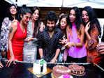 Bhuvann Ponnannaa gets a surprise birthday pool party