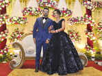 Harsh Nigam and Dalima Sharma's glittery wedding reception