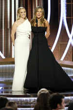 ​Reese Witherspoon and Jennifer Aniston attend the award ceremony
