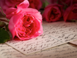 ​Writing a love letter